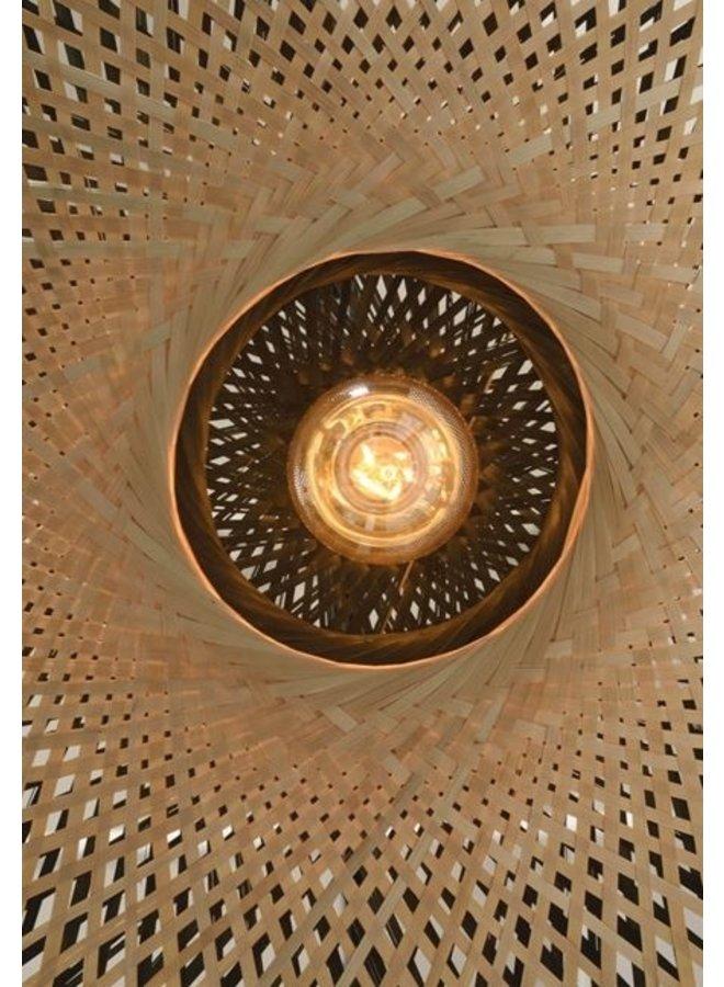 Wandlamp Kalimantan bamboo naturel S (60x15)