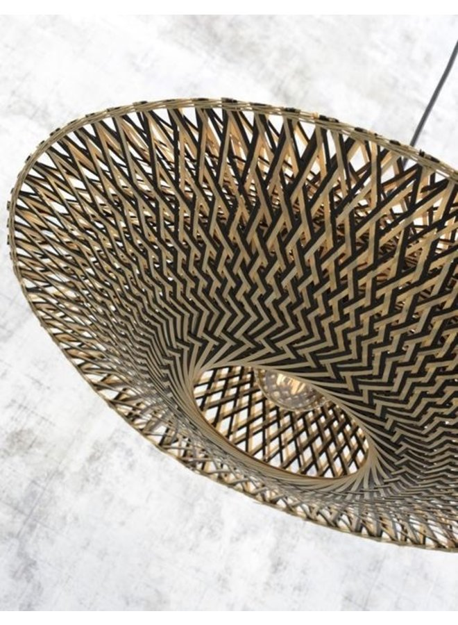 Vloerlamp Bali naturel L