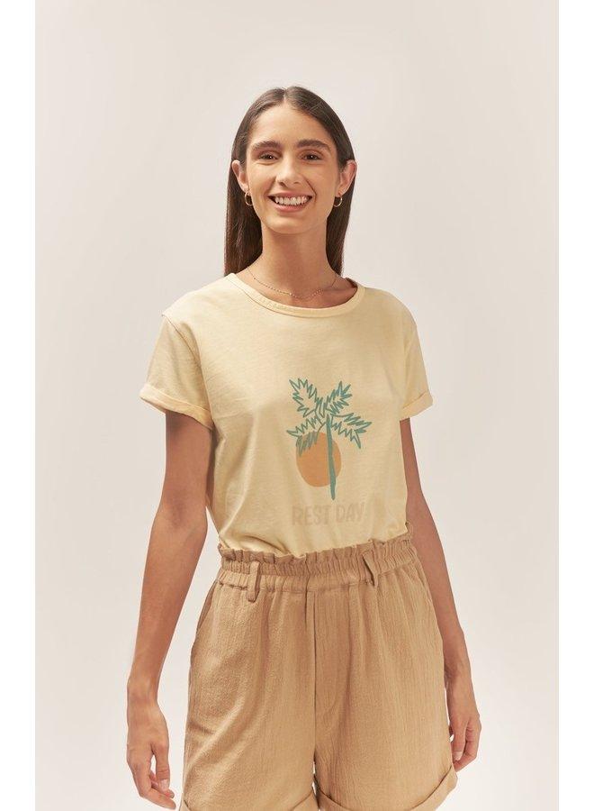 T-shirt Picconia  vanilla/multicolor