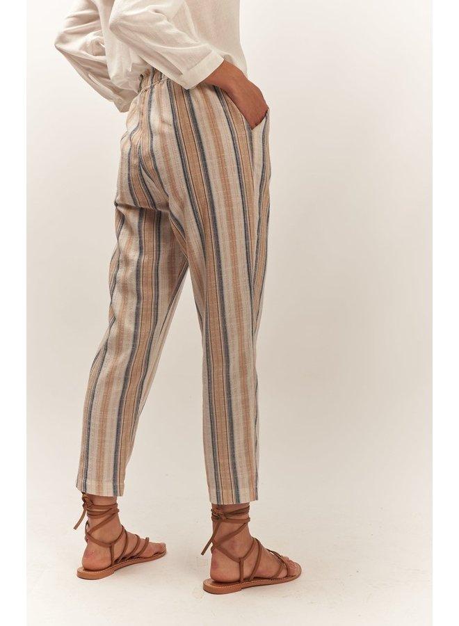 Broek Nigelia orange stripes