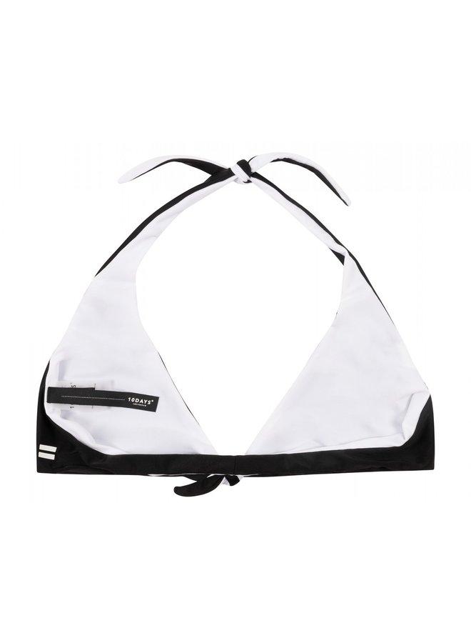 Bikini top Reversible knot black