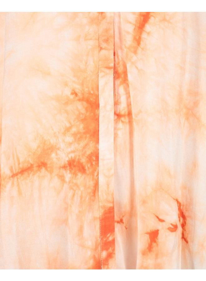Jurk Vivienne midi dress orange