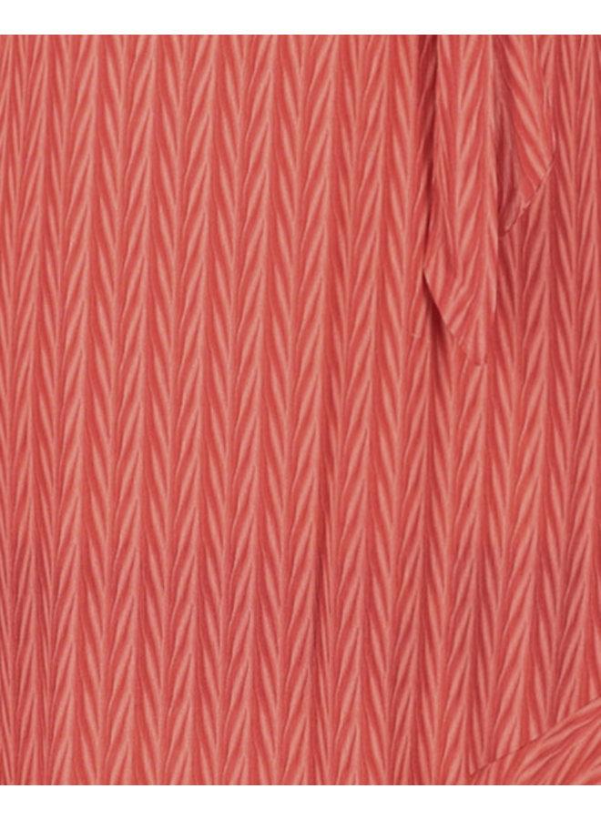 Jurk Tanika long dress coral