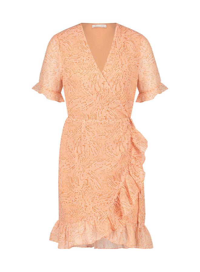 Jurk Rosy mini dress oranje
