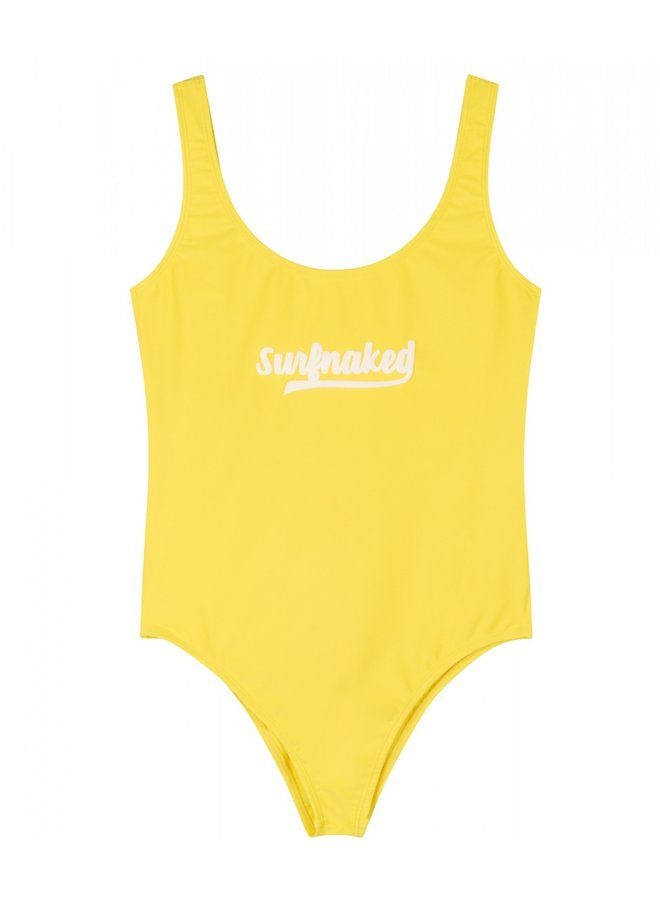 Badpak swimsuit surfnaked lemon