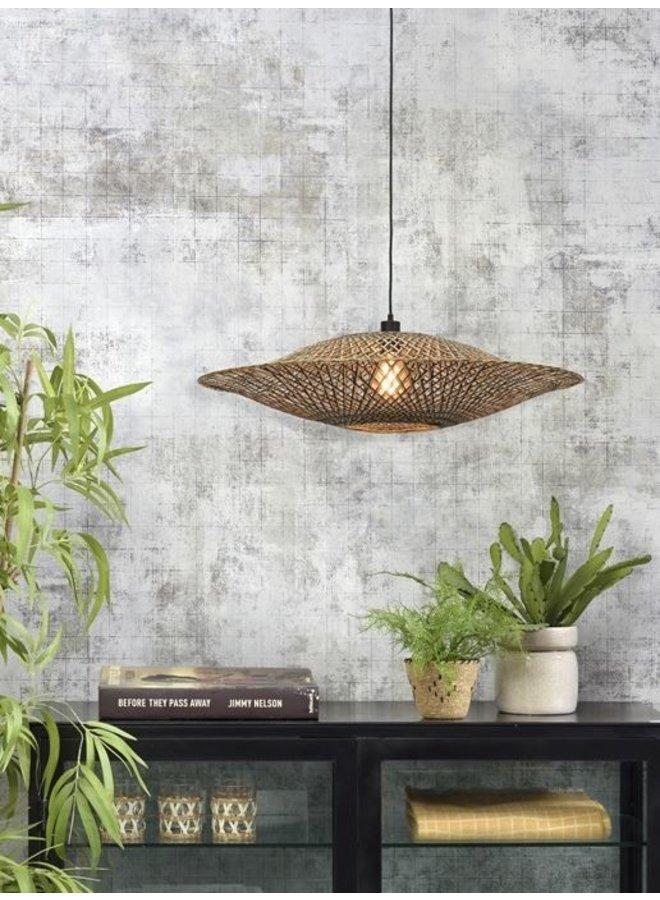 Hanglamp Bali black/naturel L