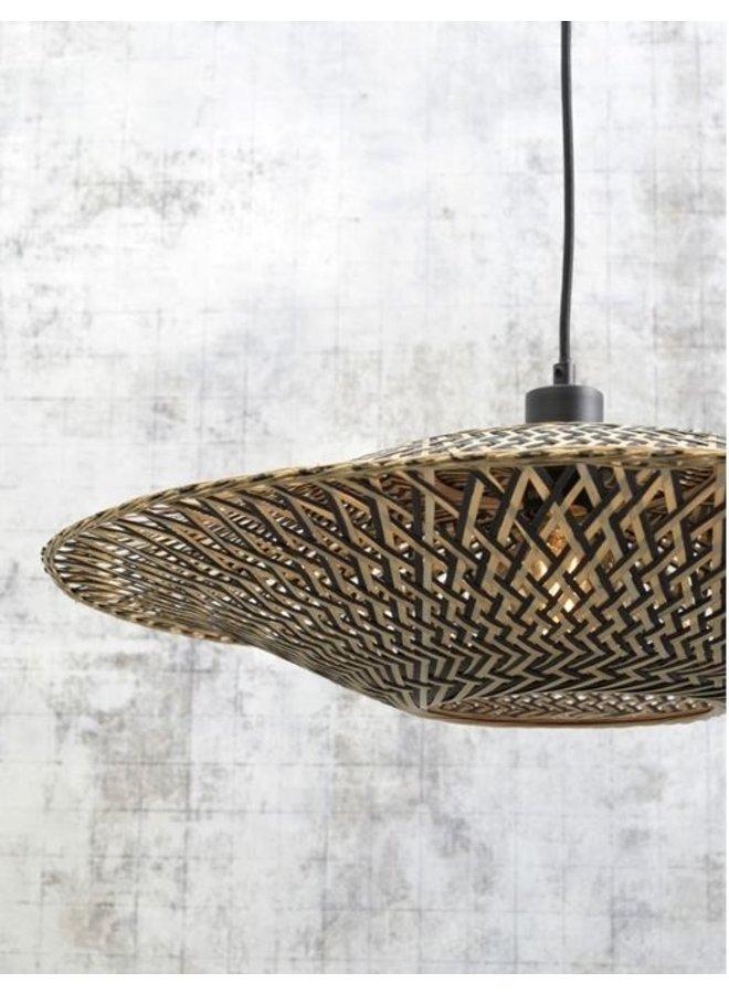 Wandlamp Bali black S (44x12)