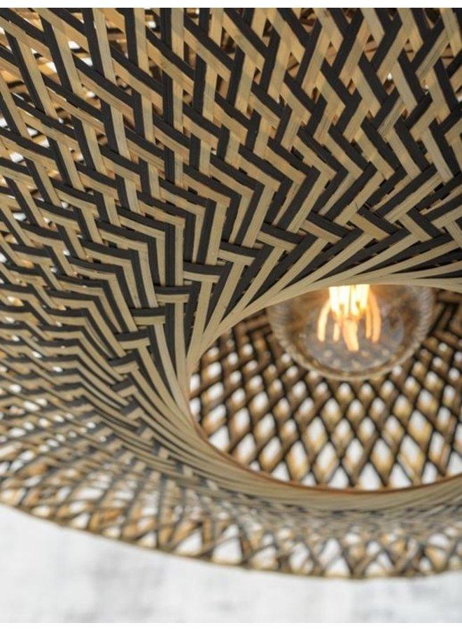 Wandlamp Bali black S (60x15)