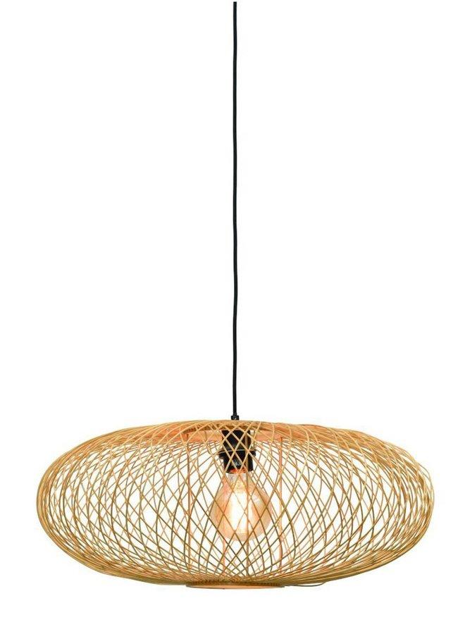 Hanglamp Cango ellipse naturel