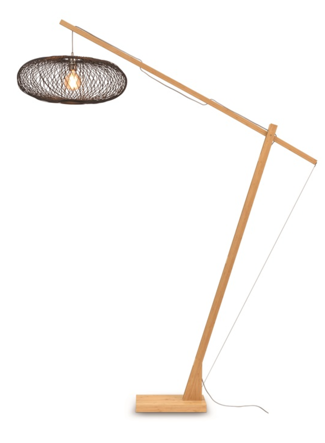 Vloerlamp Cango black (H.207)