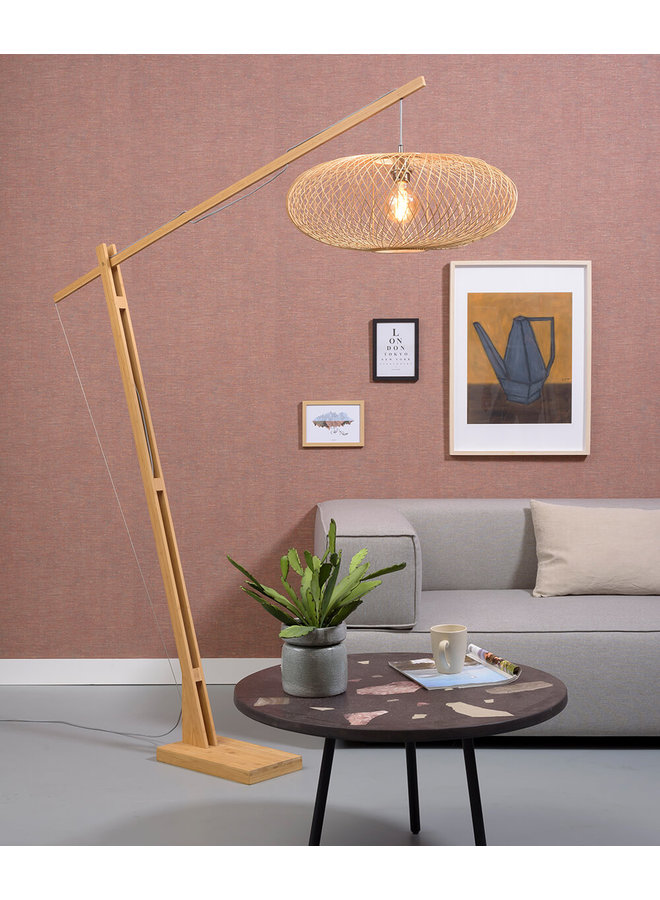 Vloerlamp Cango natural (H. 207)