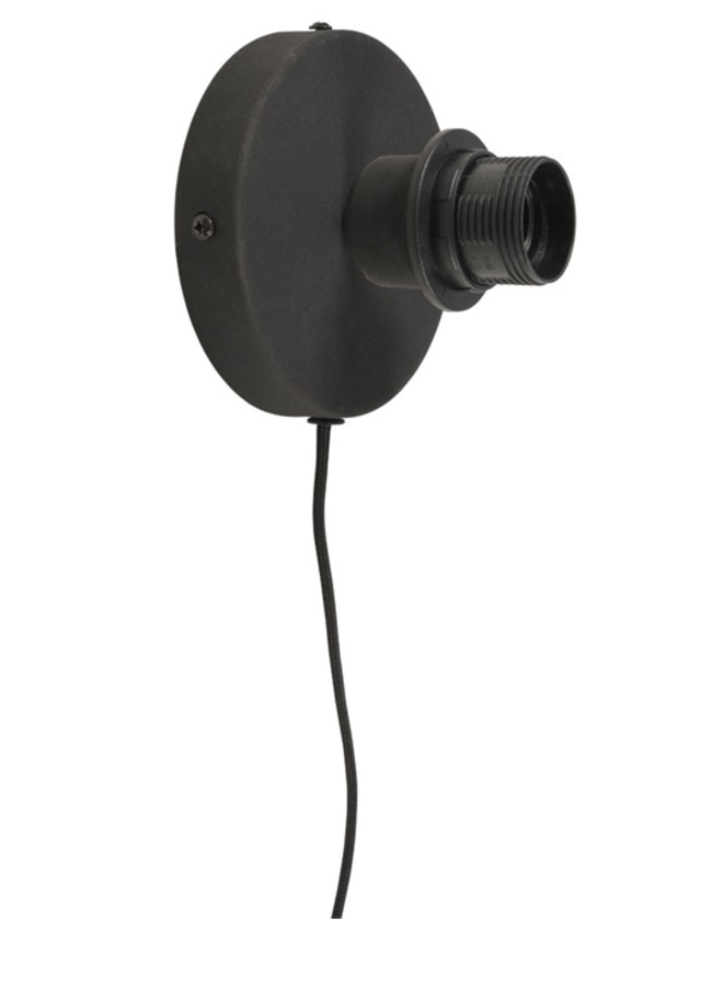 Wandlamp Cango ellipse black