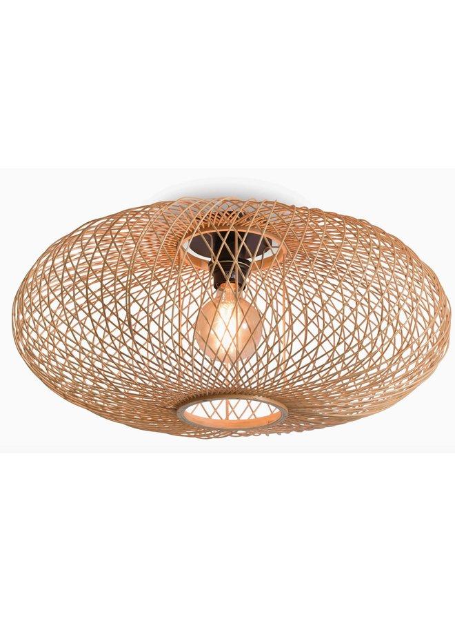 Plafondlamp Cango ellipse natural