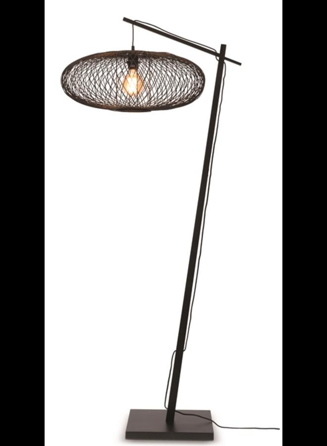 Vloerlamp Cango black (H.176)