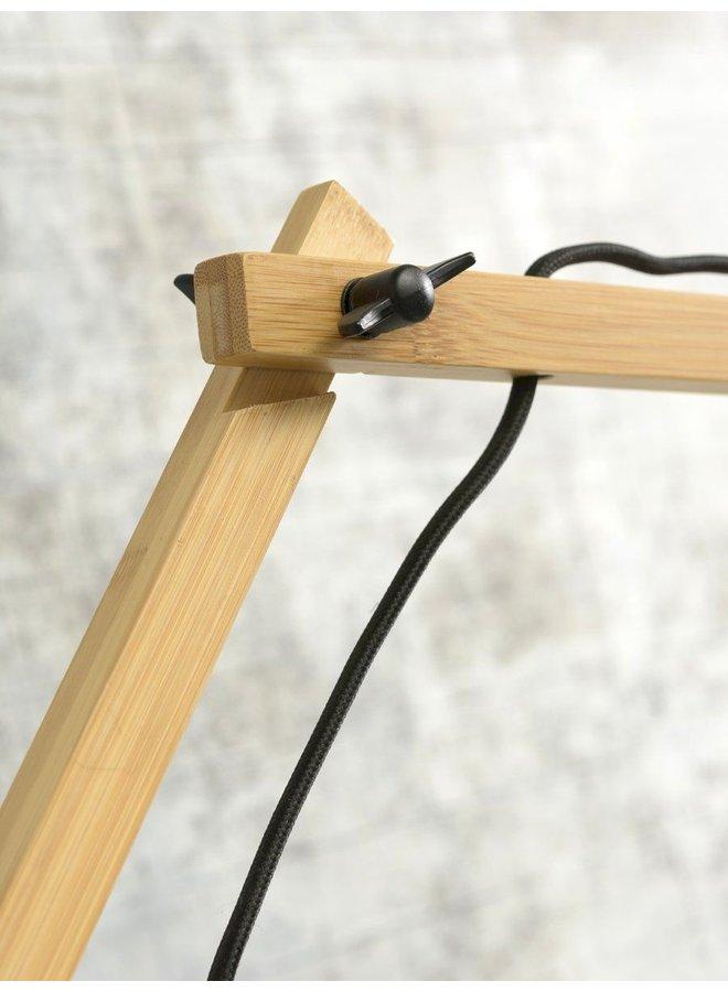 Wandlamp Cango naturel/black L