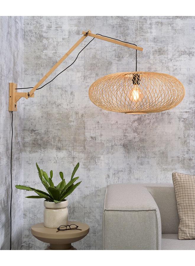 Wandlamp Cango naturel L