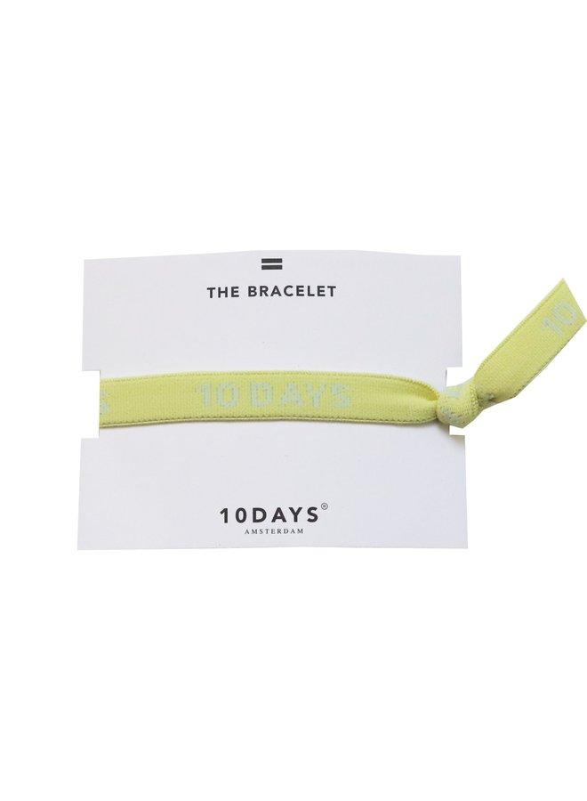 Armbandje elastic bracelet lemon
