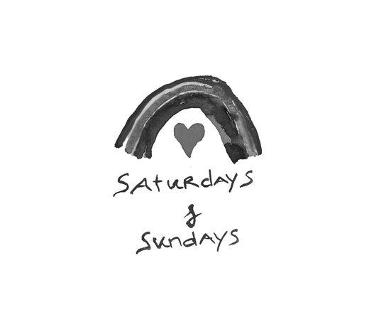Saturdays & Sundays