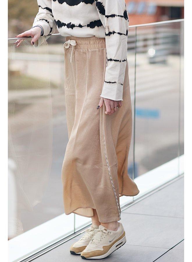 Rok Long skirt champagne