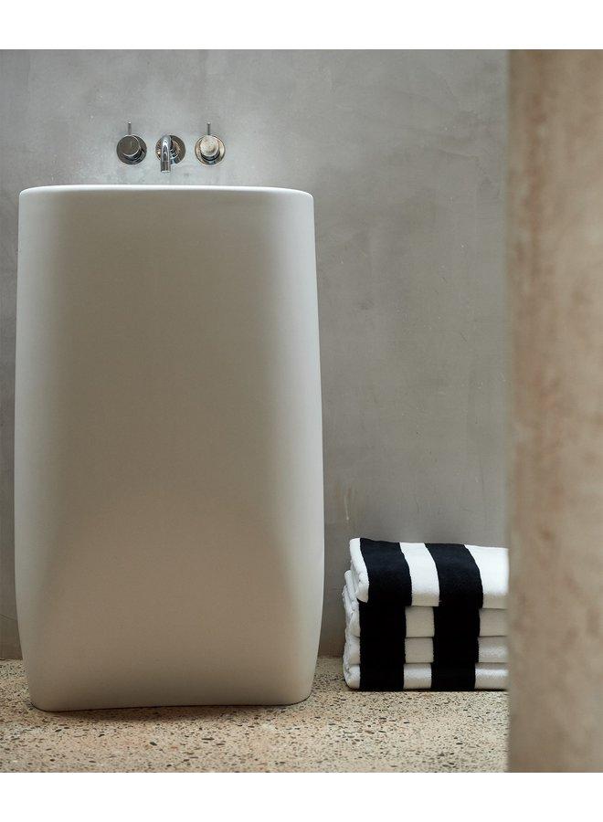 Handdoek the bath towel white