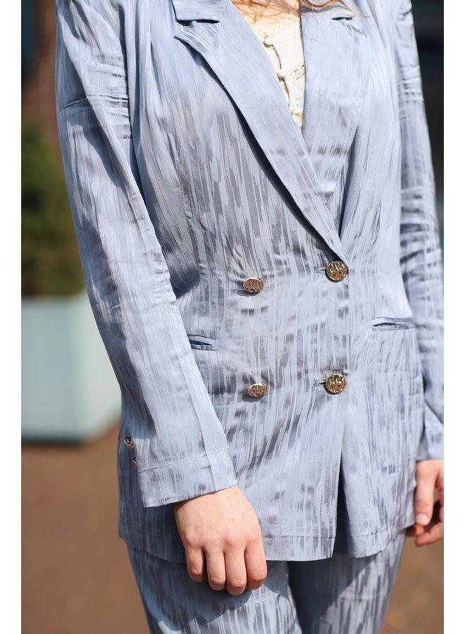 Blazer Babs blue grey