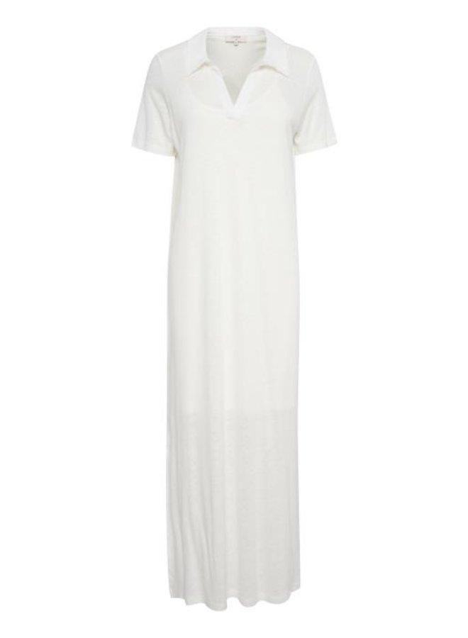 Jurk CRLuna jersey dress ev snow white