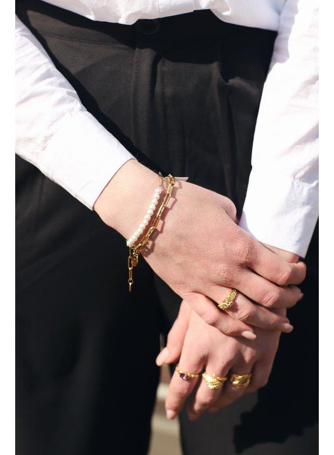 Armband Penny goud