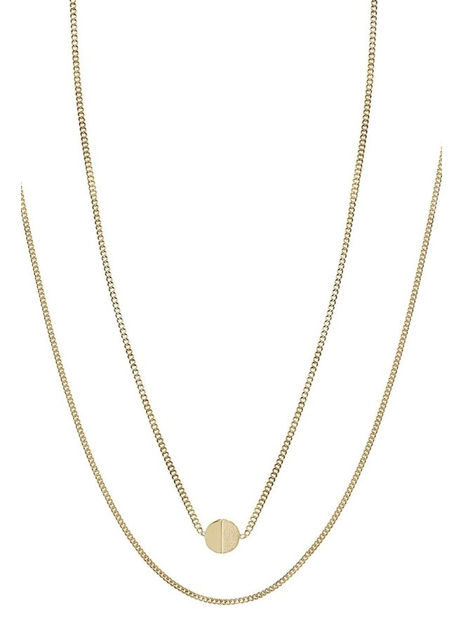 Ketting Jackie 18k gold plated