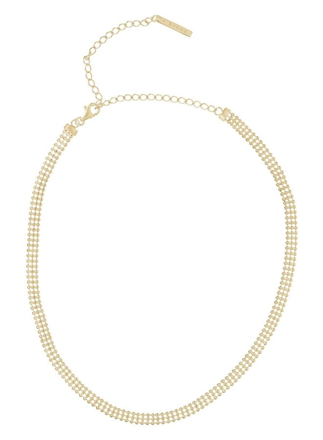 Ketting Annfin 18k gold plated
