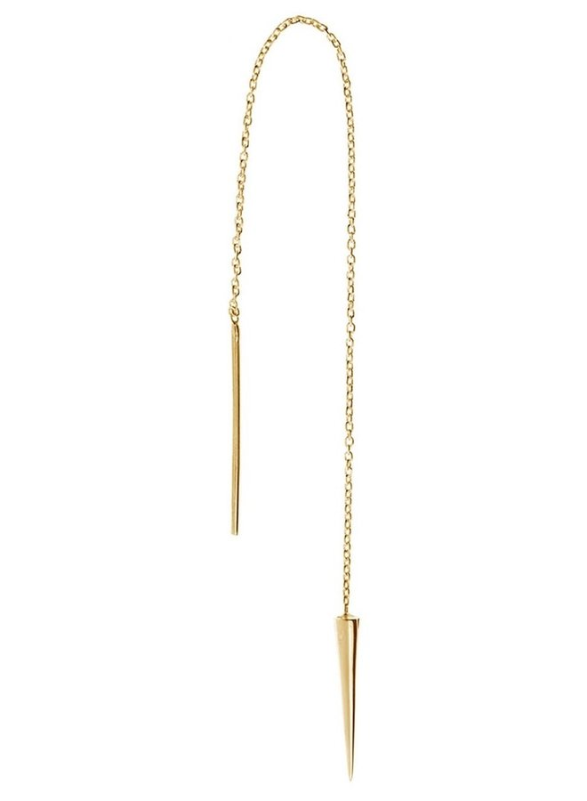 Oorbel Kelsey 18k gold plated