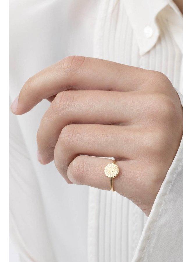 Ring Meya 18k gold plated