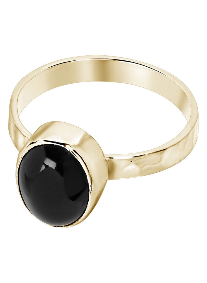 Ring Danae 18k gold plated