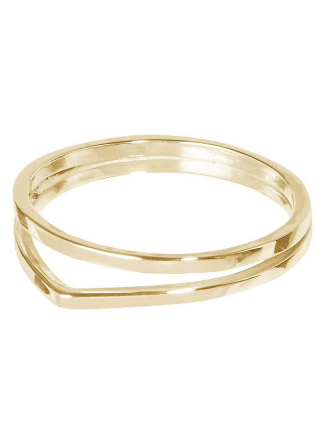 Ring Alice 18k gold plated