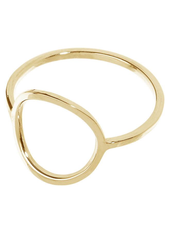 Ring Abel 18k gold plated