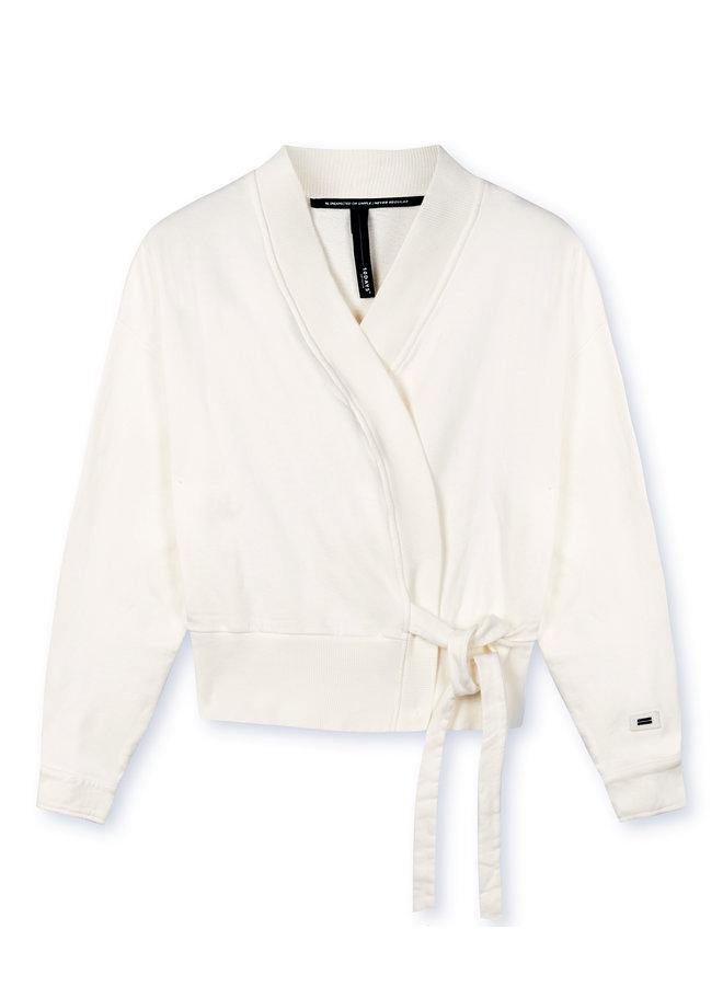 Vest kimono cardigan new white