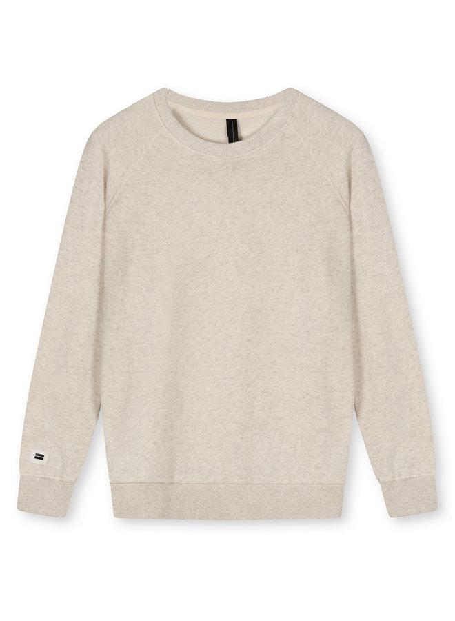 Trui icon sweater soft white melee