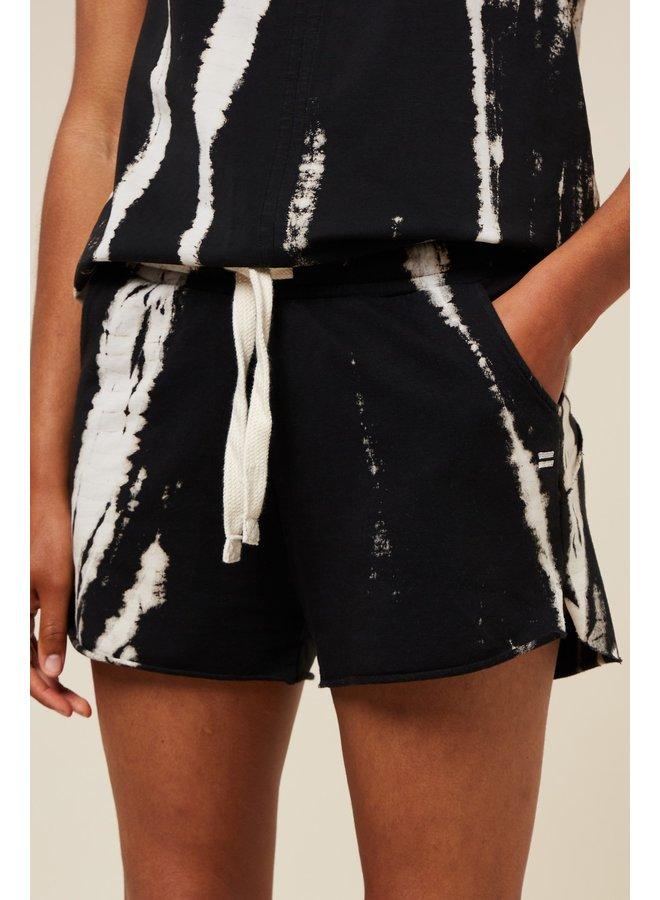Broek shorts bamboo dye black