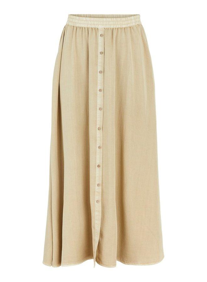 Rok Yastenni high waist maxi skirt khaki
