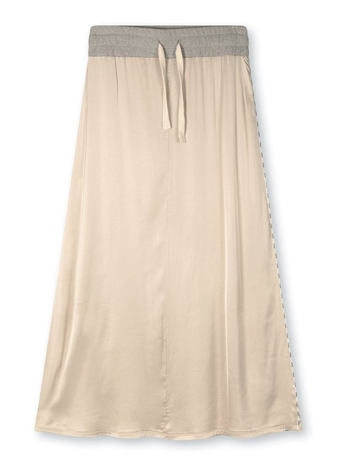 Rok skirt satin cement