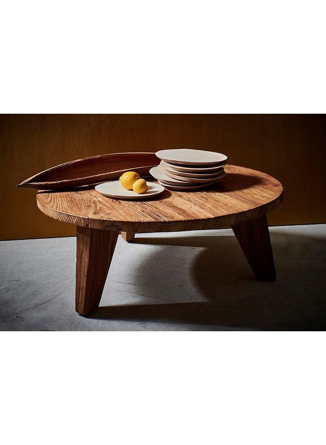 Bord Mango Ø24-30cm Natural