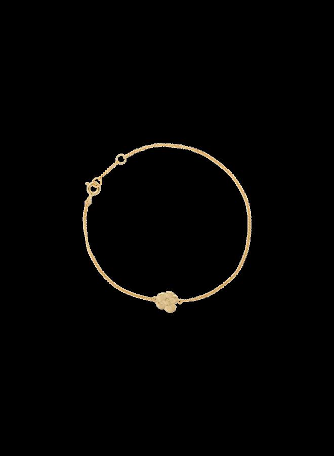 Armband soul flower bracelet goldplated goud