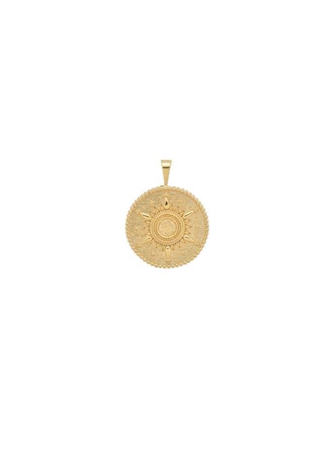 Bedel cairo necklace charm goldplated goud