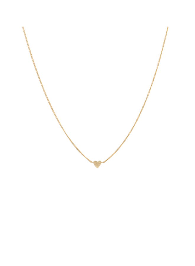 Ketting te quiero necklace goldplated goud