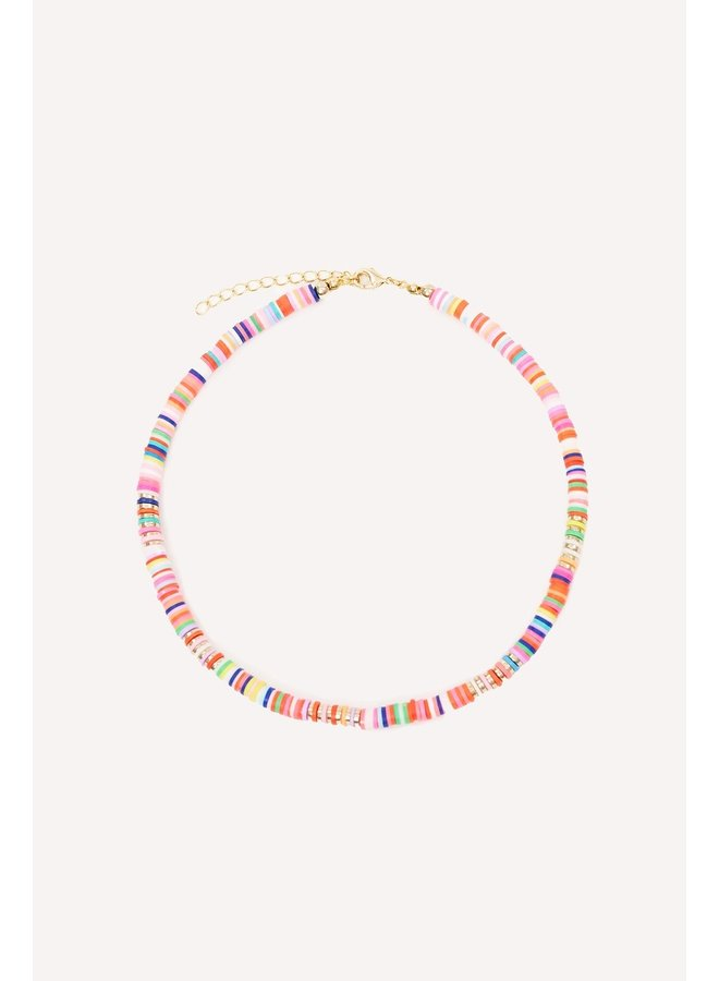 Ketting Island treasure multicolor