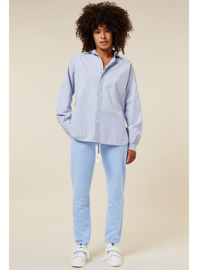 Blouse Oversized shirt stripe white