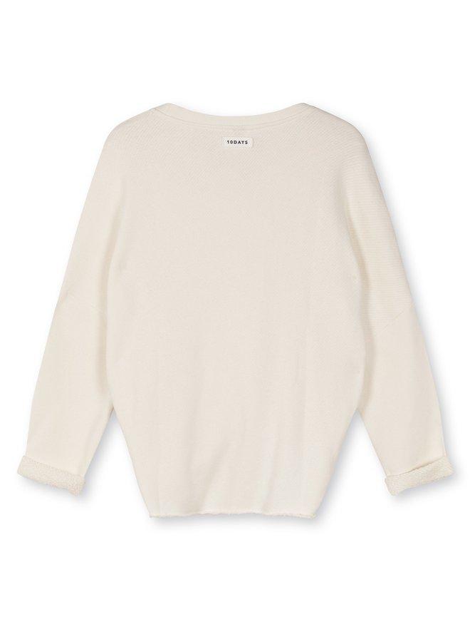 Trui Sweater terry ecru