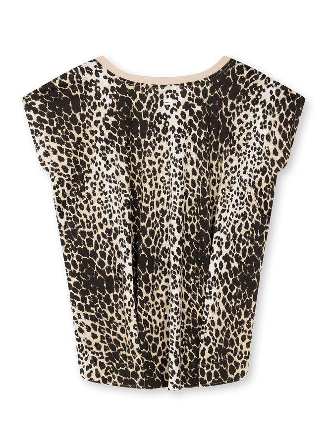T-shirt The tee leopard cement