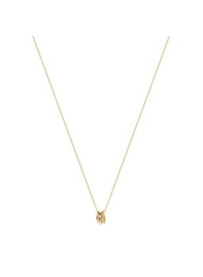 Ketting Chess 18K Gold Plated