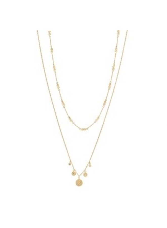 Ketting Ding 18K Gold Plated