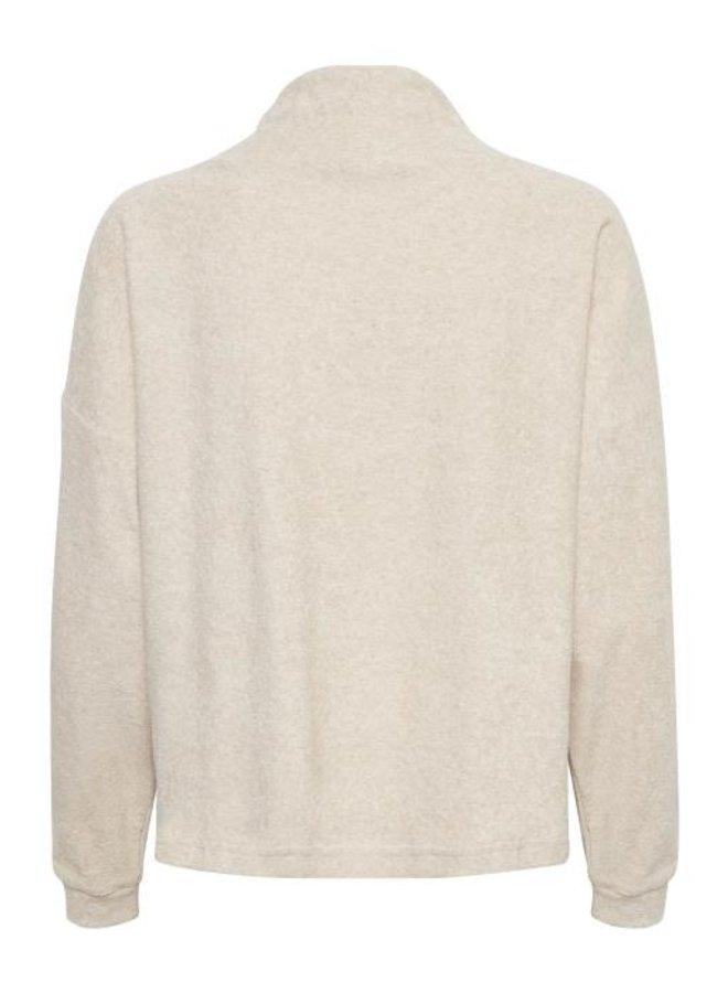 Trui CRFrona sweatshirt oat melange